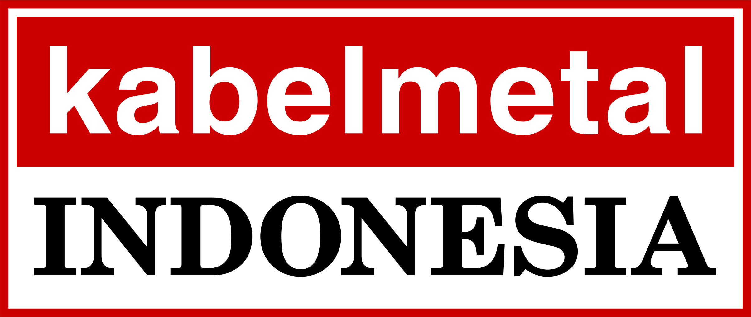 Logo kabelmetal indonesia